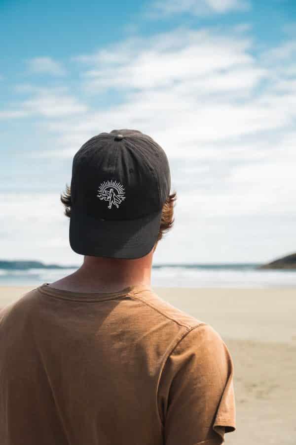 Strait Narrow White Hat 1