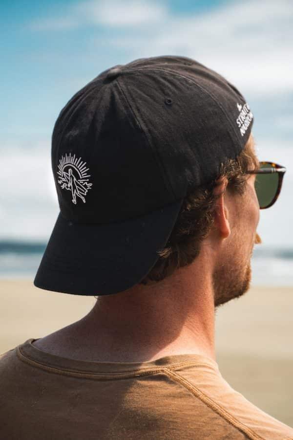 Strait Narrow White Hat 3