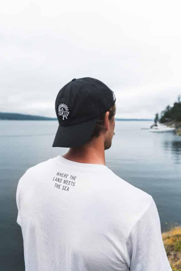 Strait Narrow White Hat 4